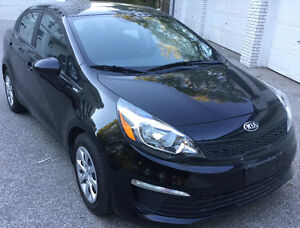 2016 Kia Rio Sedan low mileage, Accident Free, One owner