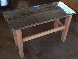 End Table w/ Barn Board Peterborough Peterborough Area image 1