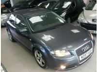 2008 AUDI A3 TDI SPORT Grey Manual Diesel