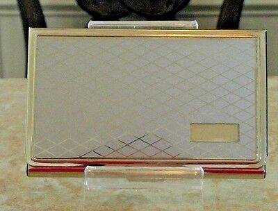Colibri EXECUTIVE Business card, credit , Case  CLASSIC  DIAMOND PATTERN CCC4080