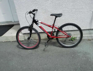 Youth Mountain Bike - front suspension