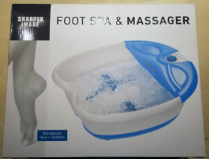 Sharper Image Foot Spa with Bubble Jets