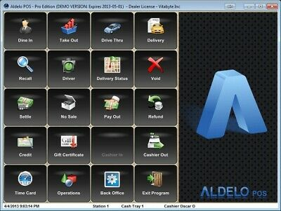 Aldelo Pos Pro Software For All Restaurants No Merchant Account Require