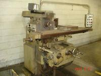 Misal Vertical & Horizontal Milling Machine