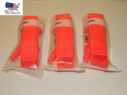 Three (3) Tourniquet Fast One Hand Application Emergency Outdoor First Aid Kit