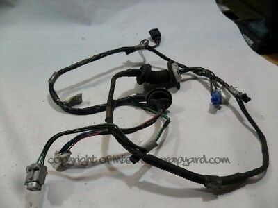 Isuzu Trooper Duty 3.0 91-02 Gen2 4JX1 LH NSR rear door wiring loom harness