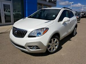 2016 Buick Encore Leather Low KM Navigation Sunroof AWD 0.9%