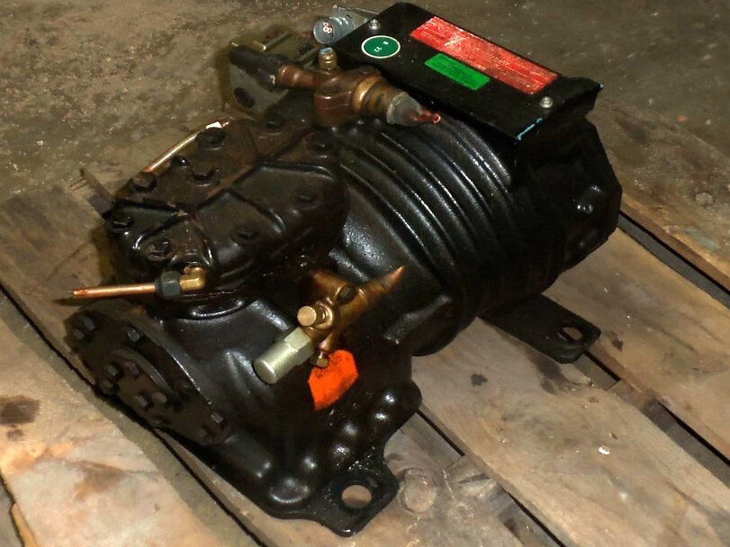 how to pump down a semi hermetic compressor