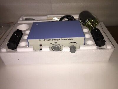 New Electric Laboratory Variable Speed Overhead Stirrer Mixer W Controller