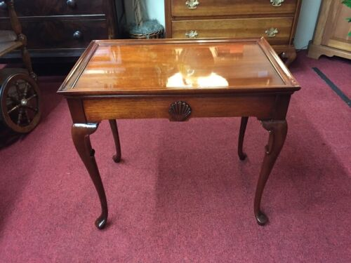 Mahogany Queen Anne Tea Table - Delivery Available