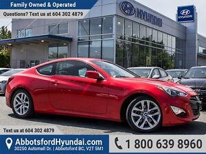 2013 Hyundai Genesis Coupe 2.0T ONE OWNER & LOW KILOMETRES