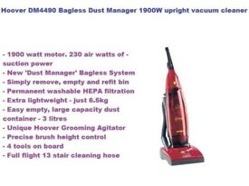 Hoover DM4490 Bagless Dust Manager 1900W upright vacuum cleaner