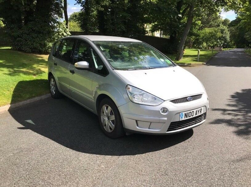 FORD S-MAX 1.8 TDCI 2008, SERVICE HISTORY, LONG MOT
