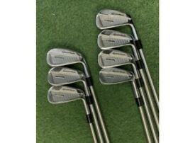Taylormade P760 irons set 4-PW extra stiff with KBS C Taper 130 shafts