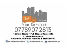 House Removals. Local & Long Distance. Man & Van Hire Rubbish Removals