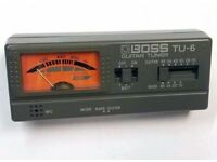 Boss TU-6 Guitar/Bass Tuner
