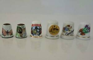Collection of China Thimbles