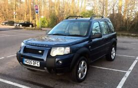 LAND ROVER FREELANDER 2.0 TD4 2005 HSE TOP SPEC 5DR MANUAL VERY GOOD CONDITION