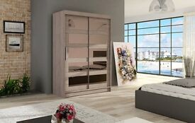 Miami Sliding Wardrobe / wardrobes and Malton tv stands tv units - HUGE REDUCTION IN PRICES