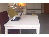 Extendable IKEA Table - White