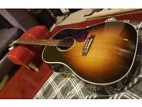 Gibson 2006 J45 ( LR bags Anthem pick up )