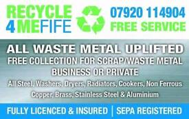FREE SCRAP METAL COLLECTION IN FIFE