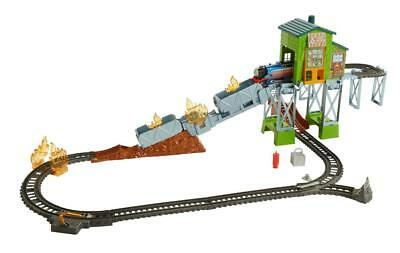 Fisher-Price Thomas & Friends TrackMaster Fiery Rescue Train Set