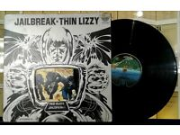 Thin Lizzy ‎– Jailbreak, G, released on Vertigo ‎in 1976, Cat No 9102 008.
