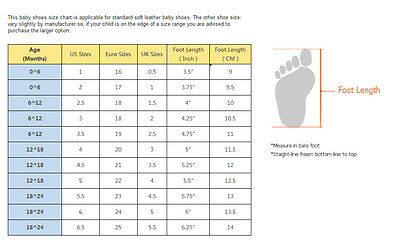 A guide to Baby Shoe Sizes | eBay