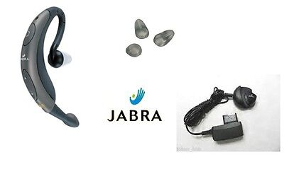 jabra bt250 FreeSpeak gray behind the ear Bluetooth Headset boom mic Earpiece  Jabra Bluetooth Mic