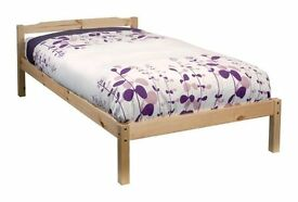 Pine 3ft Single Solid Wooden Bed as new (Made by Noah & Nani)