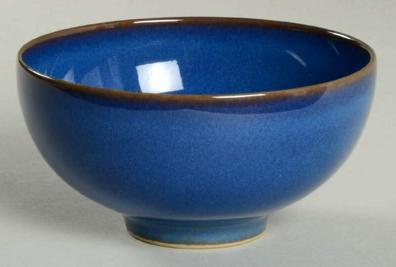 Denby Langley IMPERIAL BLUE Rice Bowl 10406443