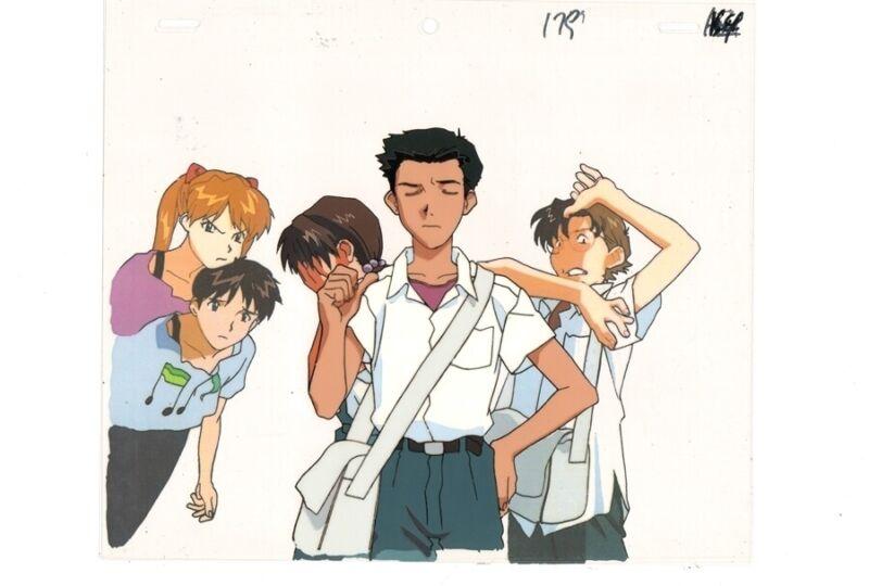 Anime Production Cel Evangelion #144