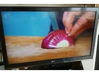 "LG flatscreen HD LCD TV 42"""