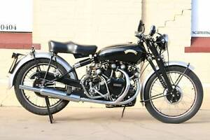Vintage Motorcycle Auction. Vincent Black Shadow. Norwood Norwood Area Preview
