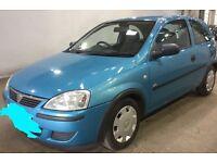 Vauxhall Corsa 1.2•Only 43,000 Miles•MOT 7/5/18• polo fiesta Punto Clio Focus Astra