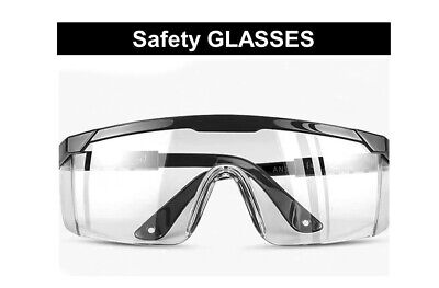 Safety Goggles Clear Safety Glasses Lightweight Anti Fog Spectacles