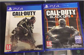 Call Of Duty Black Ops 3 + Advanced Warfare Ps4
