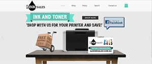 Online ink cartridge business for sale - drop shipping