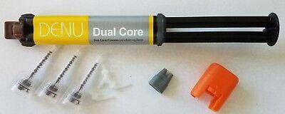 Denu Dual Core Dual-cure Core Build Up Dental Material 10 G Syringe A3