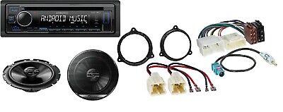 Autoradio Einbausatz für Dacia Sandero Logan Duster Access mit Kenwood USB MP3 ()