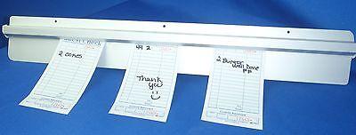 Restaurant Customer Ticket Receipt Holder Rail 48