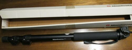 Manfrotto 681B Professional Monopod Black Ex Cond, Made Italy, With Instructions