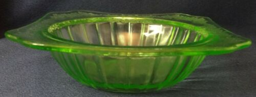 """Adam Green Cereal Bowl 5.75"""" Jeannette Glass Company"""
