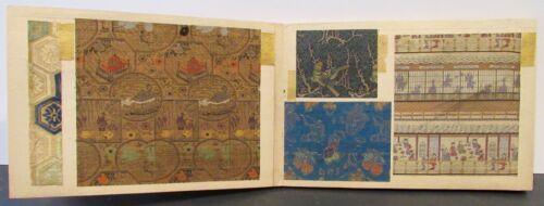 ASIAN FABRIC SAMPLE BOOK CIRCA 1890 JAPAN ? 19 SWATCHES