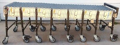 Best Flex 200 Portable 8 To 24 Expandable Skate Wheel Roller Conveyor