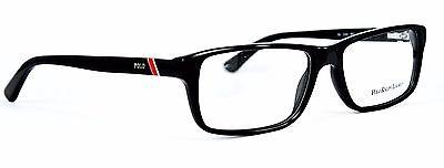 POLO Ralph Lauren Herren Brillenfassung PH2104 5001 54mm schwarz Vollrand 458 66