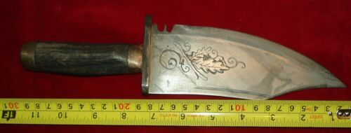 "Civil War Confederate  Bowie Knife No Sword Dagger "" Tiffany """