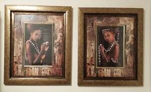 Anthony Murray's Exotic Wall Art African Women x 2 Belmont Belmont Area Preview