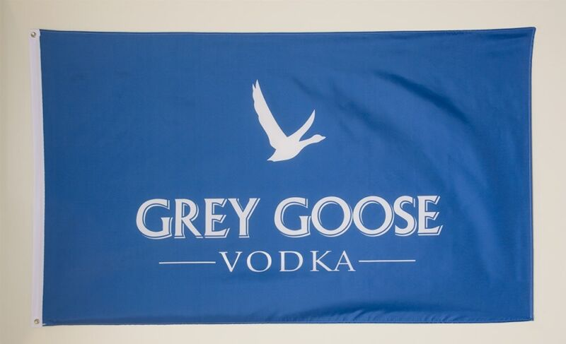 Grey Goose Vodka flag Banner HIGH QUALITY MINT 3